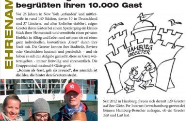 Hamburg Greeter im Telemonat