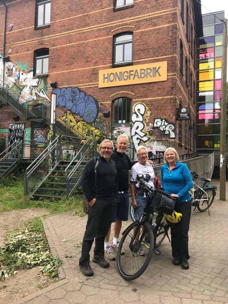 Fahrradtour nach Wilhelmsburg