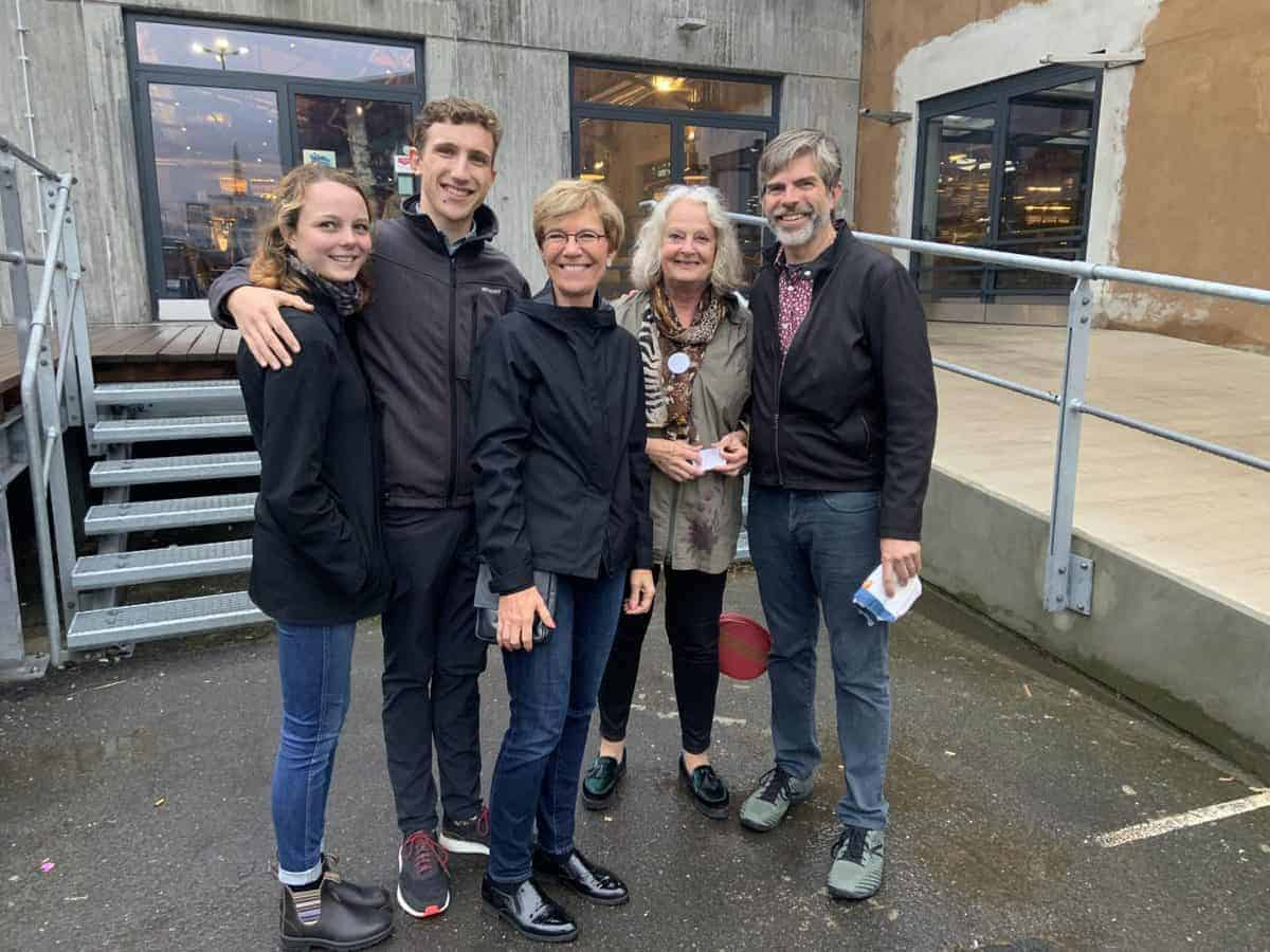 An informative and personalized tour with Gudrun