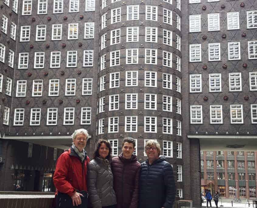Im Kontorhausviertel - Foto: Hamburg-Greeter