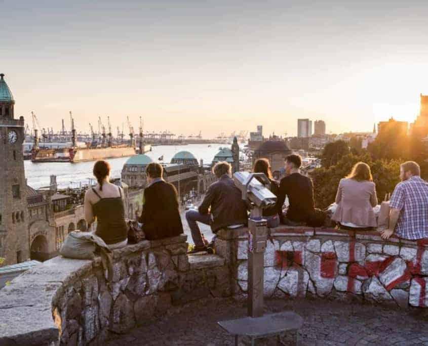 Hamburg Führung: An den Landungsbrücken  Mediaserver Hamburg, Joerg Modrow