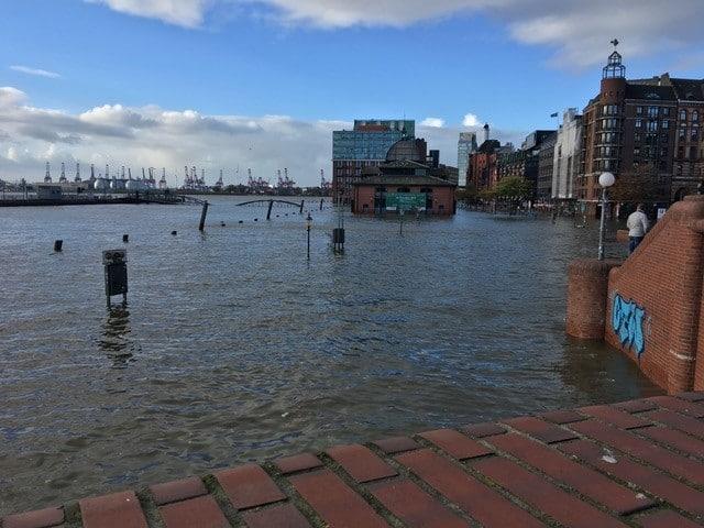 Fish market during storm surge - Foto Susanne Goldschmidt