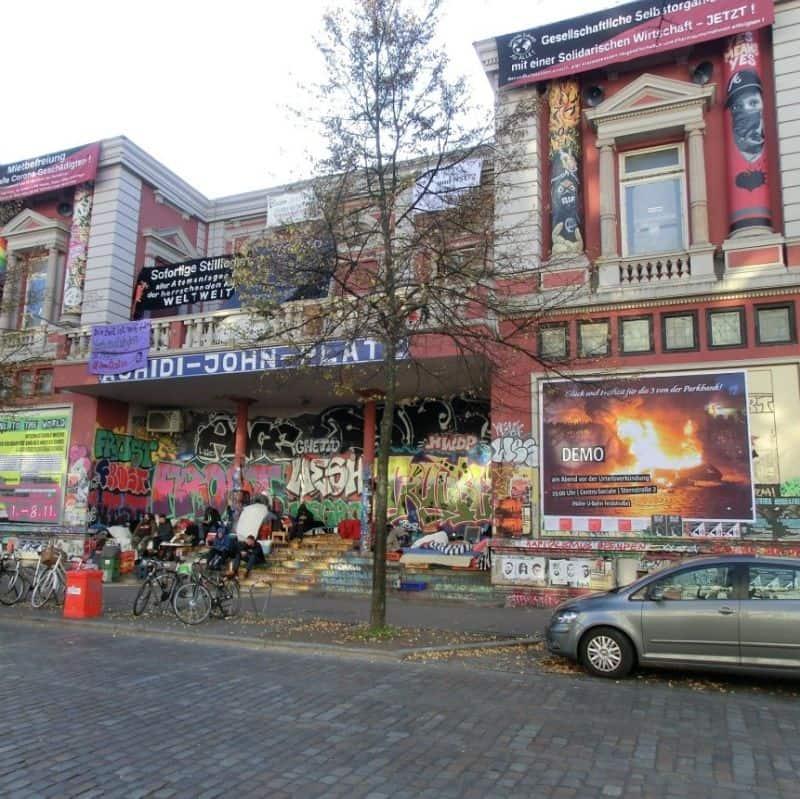Schanzenviertel - Rote Flora