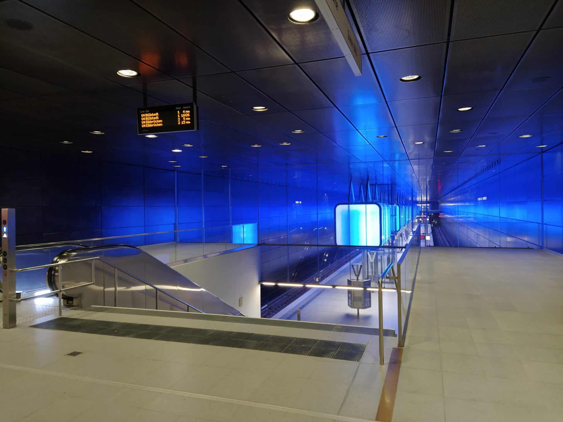 U-Bahn Überseequartier - Foto: Matthias Vollmer