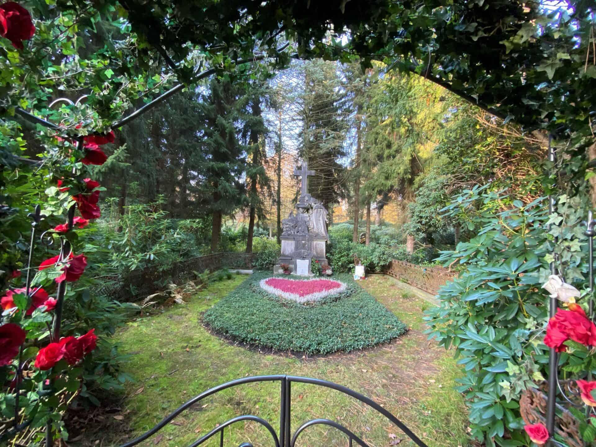 Ohlsdorfer Friedhof - Jan Fedder - Foto: Carsten Fischer