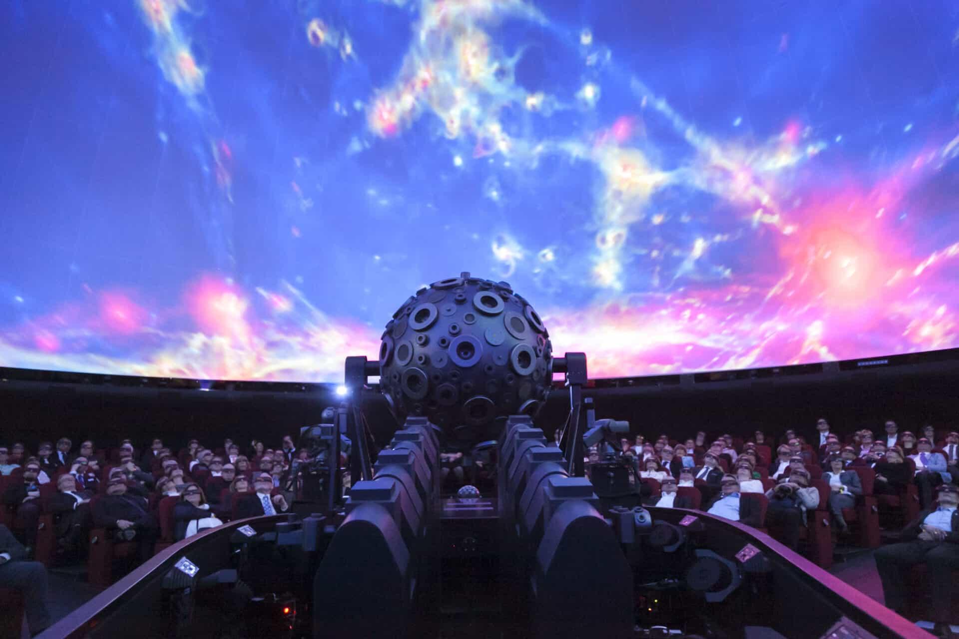Planetarium Hamburg - Sternensaal - Foto: Jan-Rasmus Lippels