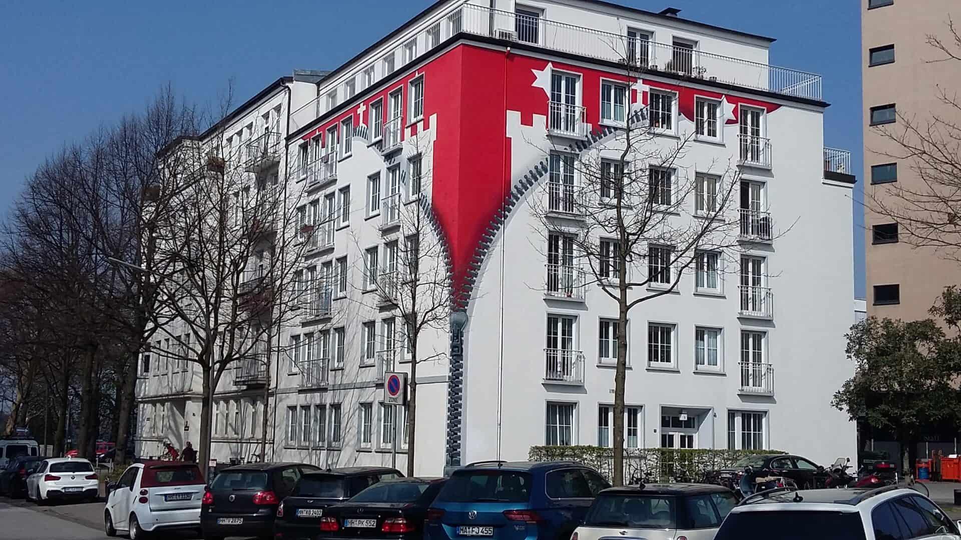 Reissverschlusshaus St. Georg