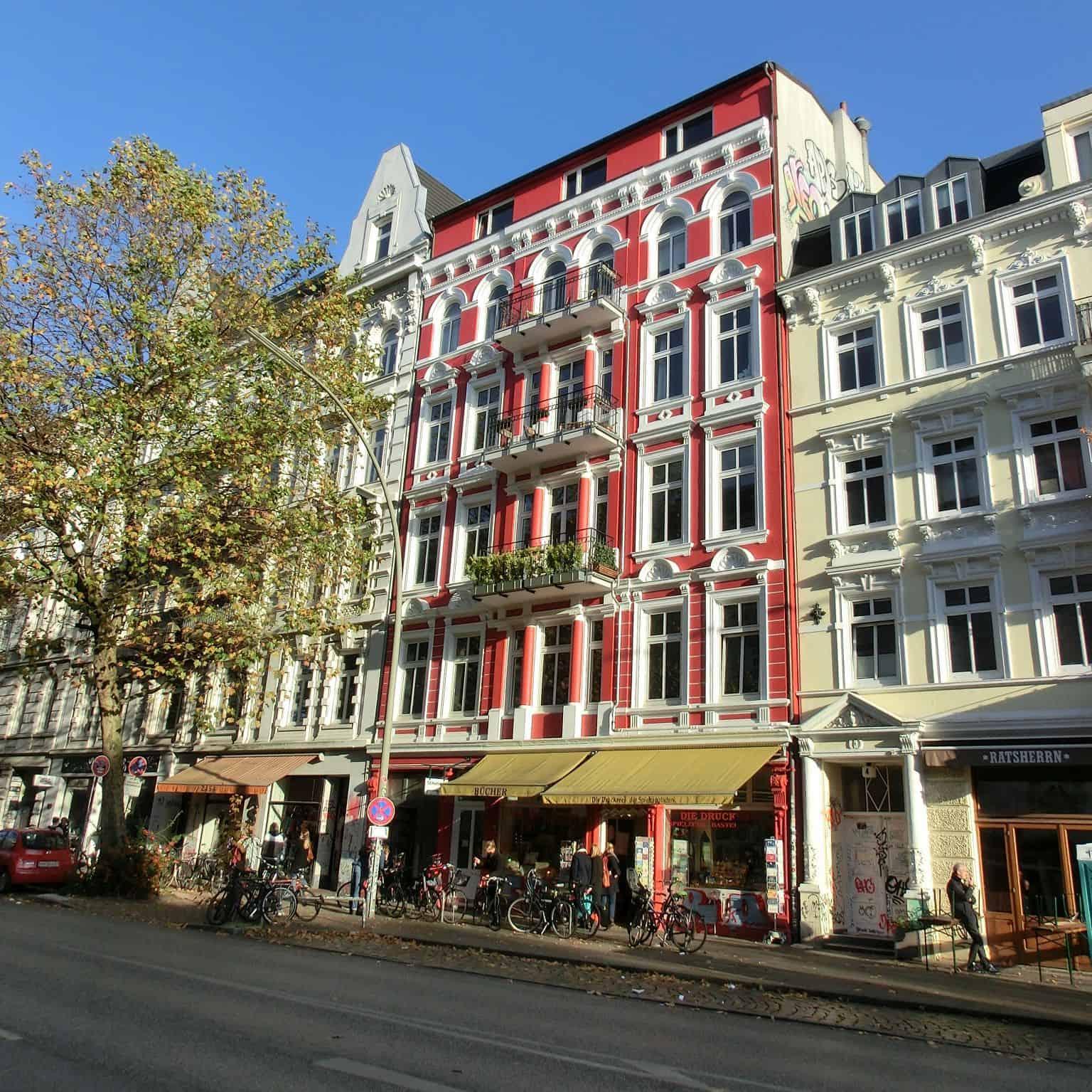 Schanzenviertel - Schulterblatt
