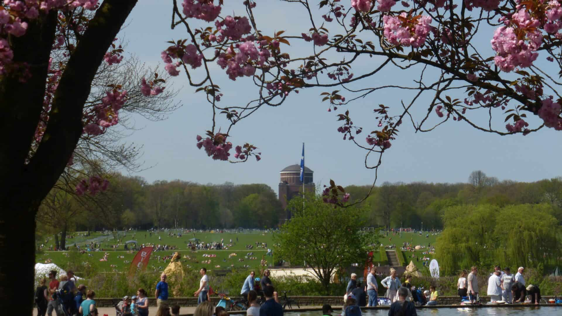 Stadtpark Hamburg - Foto: Rainer Schneehorst