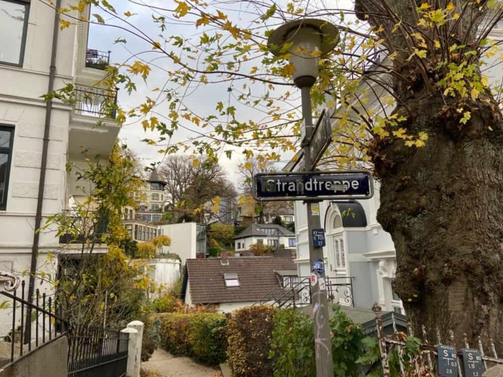 Treppenviertel Blankenese Rundgang- Foto: Barbara Hantschel