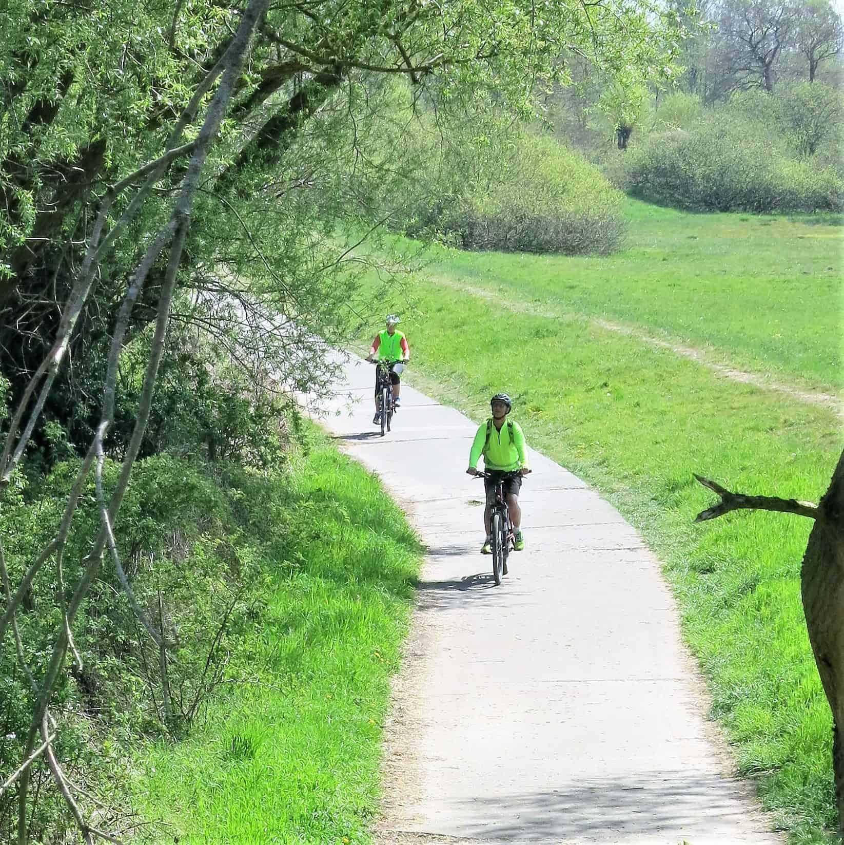 Fahrrad von Harburg bis Bergedorf