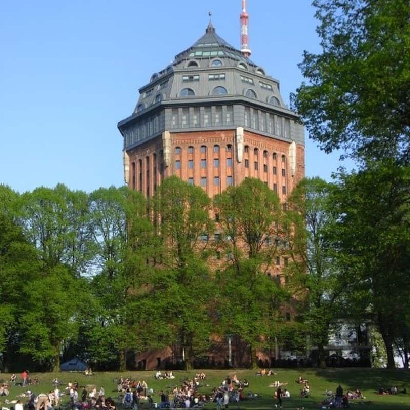 Schanzenviertel - Wasserturm