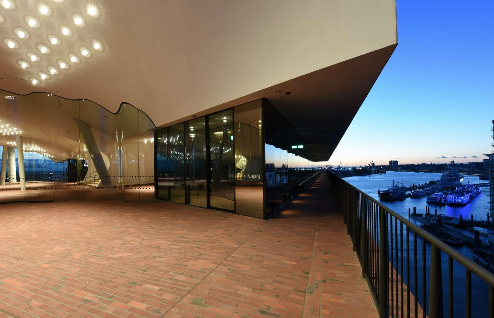 Elbphilharmonie Plaza Führung - Foto: Mediaserver Hamburg / Michael Zapf